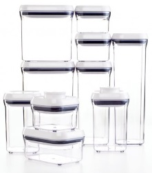oxo containers are clear